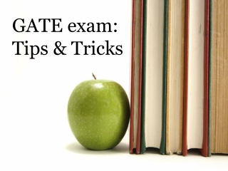 GATE exam: Tips