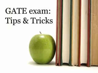 GATE exam: Tips