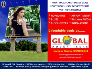 Lodha Group Properties Outdoor Advertisement of Mumbai