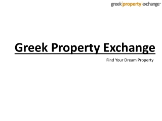 Properties in Greece