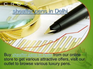 sheaffer pens in Delhi