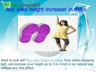 buy yoko height increaser in delhi