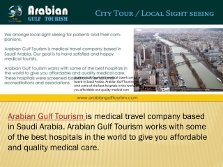 Medical Centers in Saudi Arabia, Saudi Arabia Medical Compan