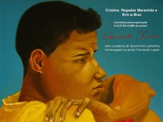 """Convite Virtual Exposição """"A Luz da Alma"""" por Eduardo Xavier"""