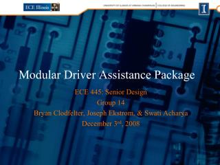 Modular Driver Assistance Package