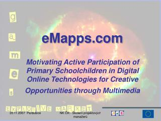EMapps  Motivating Active Participation of Primary Schoolchildren in Digital Online Technologies for Creative Opportunit
