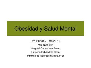 Obesidad y Salud Mental