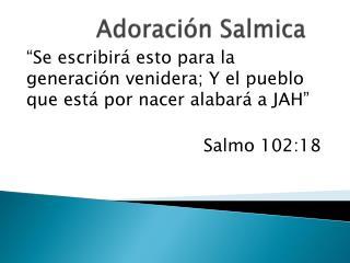 Adoraci n Salmica