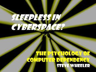 Sleepless in  Cyberspace