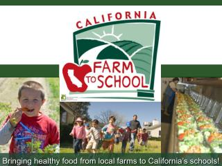 Bringing healthy food from local farms to California s schools