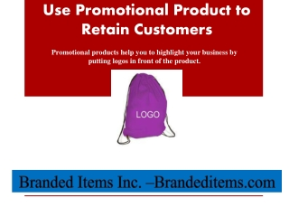 promotional products for business by branded items