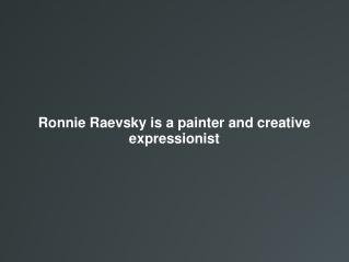Ronnie Raevsky