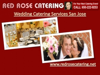 Wedding Catering Services San Jose
