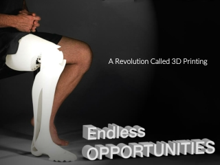 3D Printing: Endless Opportunities