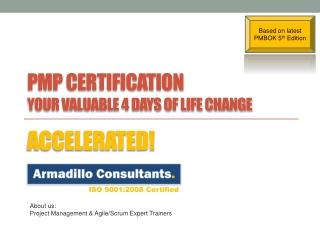 PMI PMP(Project management professional)
