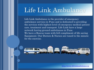 Life Link Ambulance Pune