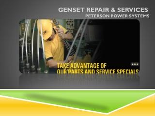 Genset Repair