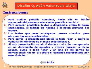 Q. Ad n Valenzuela Olaje - Colegio de Bachilleres del Estado de Sonora