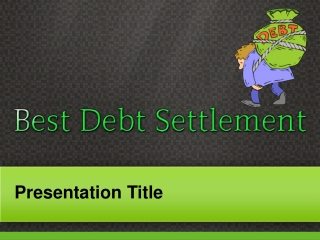 Best Debt Settlement