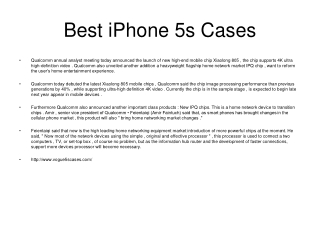 Best iPhone 5s Cases