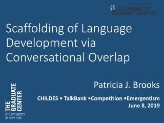 A First Language: Toddler Talk