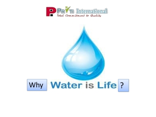 Know Why Water Is Called As Life?