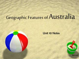 Geographic Features of Australia