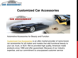 Dashboard Covers - Give A Functional Look To Your Car Dashbo