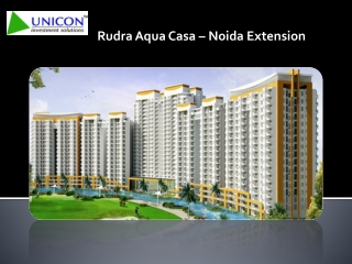 Rudra Aqua Casa – Launch By Rudra Builder In Sector 16 Noida