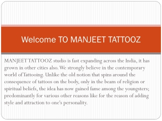 Best Tattoo Artist in India | Best Tattoo Shop in India