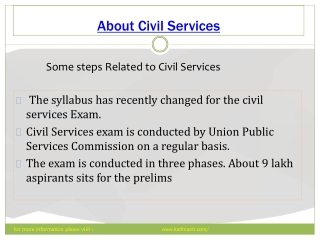 Civil Services is the most prestigious exam