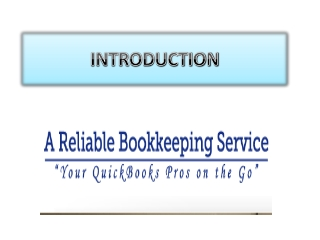 A Reliable Bookkeeping Service