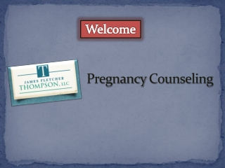 Pregnancy Counseling