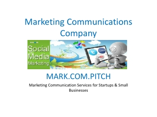 Marketing Communications Company