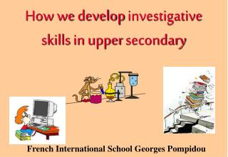 How we develop investigative skills in upper secondary
