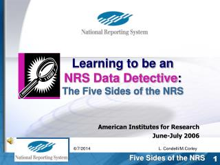 American Institutes for Research    June-July 2006