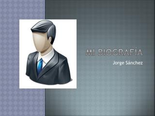 Biografia Persona