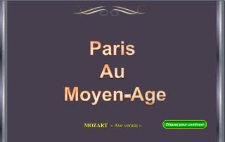 Paris Au  Moyen-Age