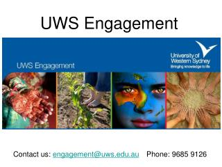 UWS Engagement