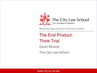 World-class legal education  in the heart of London