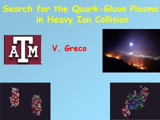 Search for the Quark-Gluon Plasma  in Heavy Ion Collision