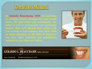 Miami Dentist