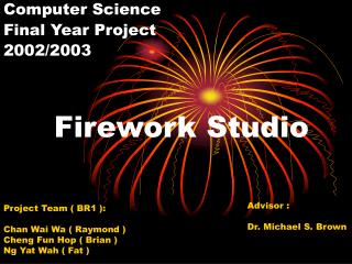 Firework Studio