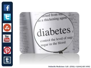 Diabetes Treatment and Medicines