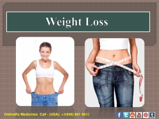 Manage Your Obesity with Weight Loss Medicines