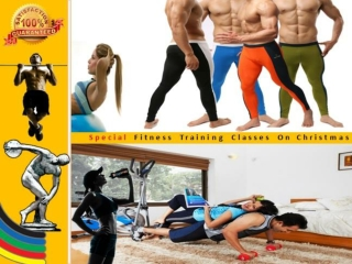 Special Fitness Classes on Christmas