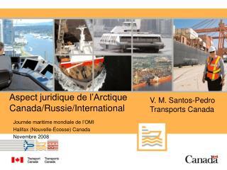 Aspect juridique de l Arctique Canada
