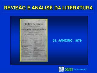 REVIS O E AN LISE DA LITERATURA
