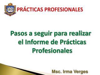 PR CTICAS PROFESIONALES