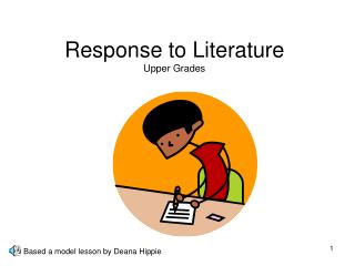 Response to Literature Upper Grades
